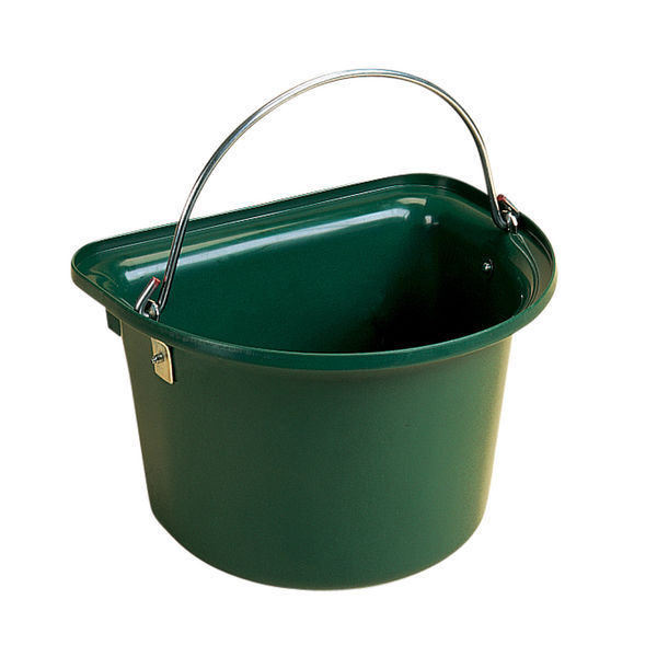 Flat Sided Bucket Green
