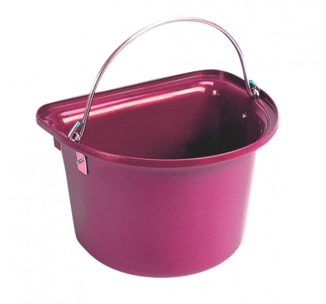 Flat Sided Bucket Pink