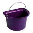 Flat Sided Bucket Purple