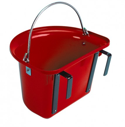 Grooming Bucket Red