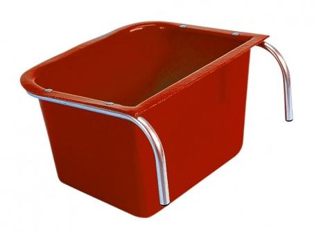 Large Portable Manger Red