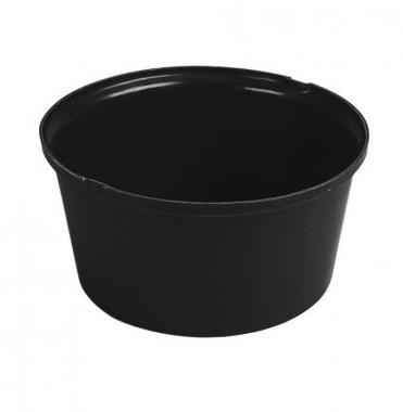 Heavy Duty Feed Bowl Black