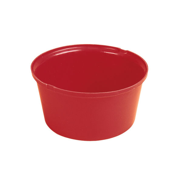 Heavy Duty Feed Bowl Red