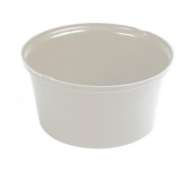 Heavy Duty Feed Bowl White