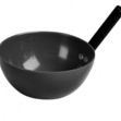 Plastic Feed Scoop Black
