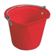 D-Shape 3 Gal Hanging Bucket Red