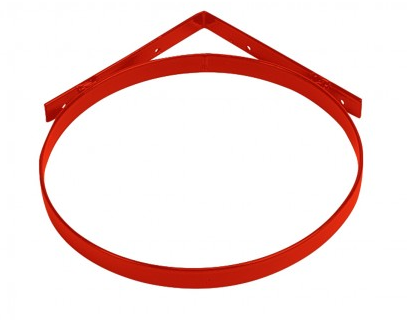 Light weight Corner Bucket Holder Red