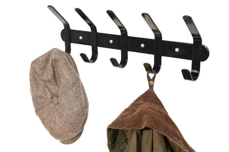 Multi Coat Hook Black