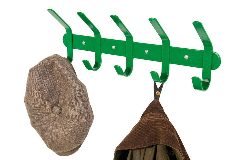 Multi Coat Hook Green