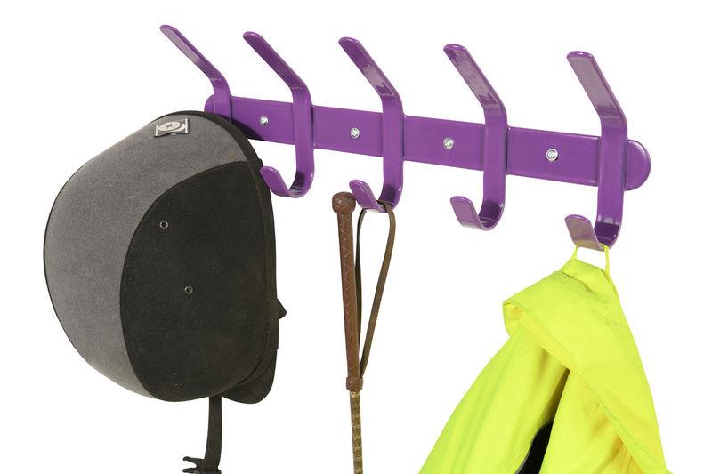 Multi Coat Hook Purple