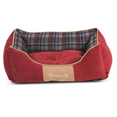 SCRUFFS HIGHLAND BOX BED RED