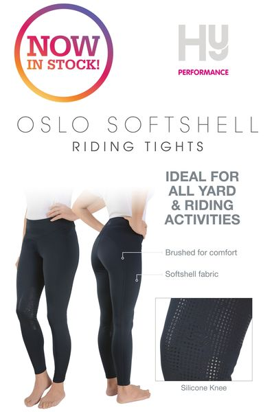 HyPERFORMANCE Oslo Softshell Riding Tights image #3