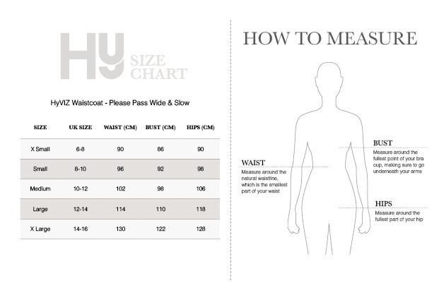 HyViz Please Pass Wide & Slow Waistcoat image #3