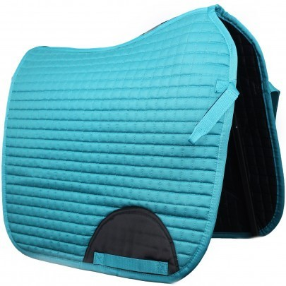 Quilted Dressage Saddle Pad Peacock