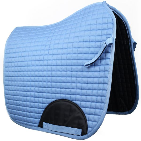 Quilted Dressage Saddle Pad Sky