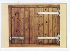 "48 3/8"" Deluxe Hayloft Door"