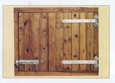 48 3/8ins Deluxe LH Hung Hayloft Door