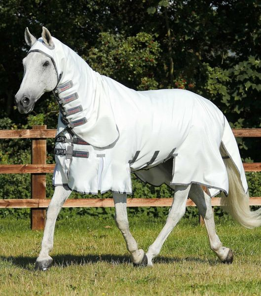 Sweet Itch Buster Fly Rug with Belly Flap image #1