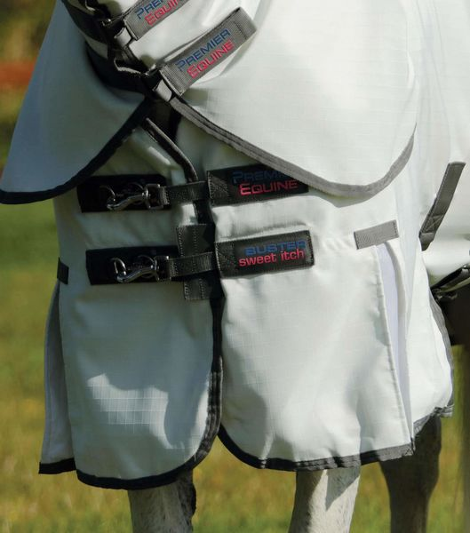 Sweet Itch Buster Fly Rug with Belly Flap image #4
