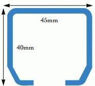 Eurogear 400 Tracking - 2m Length