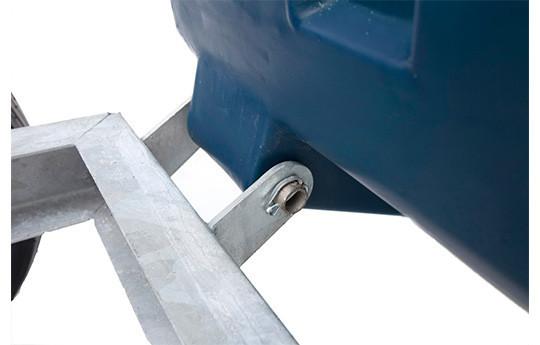 250L Tipping Wheelbarrow image #2