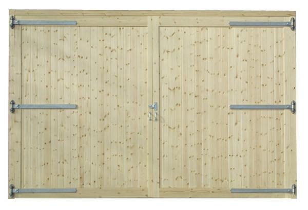 Untreated Framed, Ledged & Braced Garage Doors