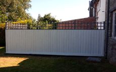 Hand painted Fence